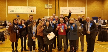 Marco Longhi is the new MP for Dudley North